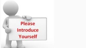 Semaine 1 – Introduce yourself here – Présentez-vous ici !
